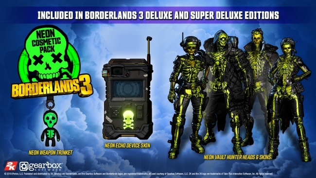 Neon Borderlands 3