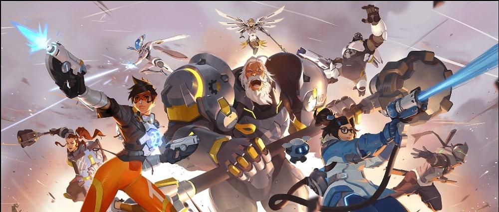 Elenco de personagens de Overwatch, desenvolvido pela Blizzard