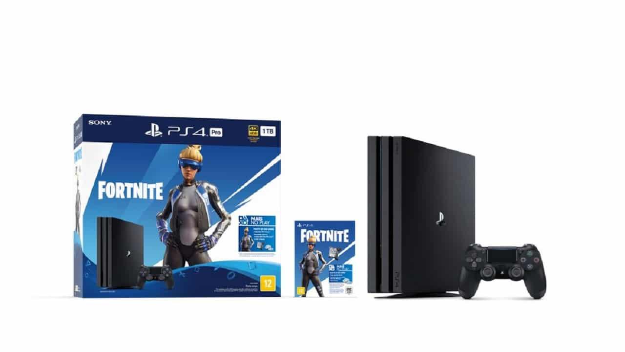 Bundle do PS4 de Fortnite é anunciado com conteúdo exclusivo
