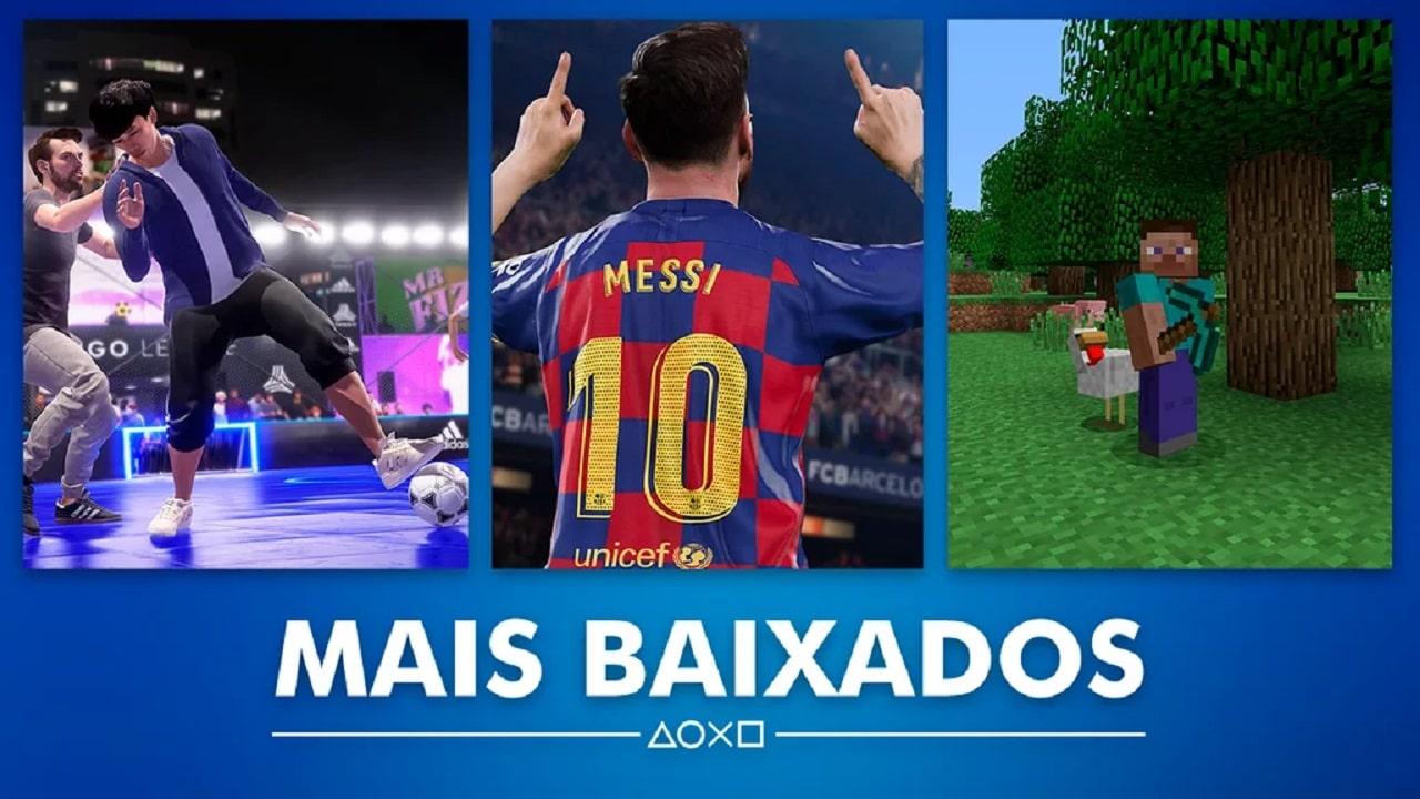 FIFA 20 e PES 2020 foram os mais vendidos de setembro na PS Store
