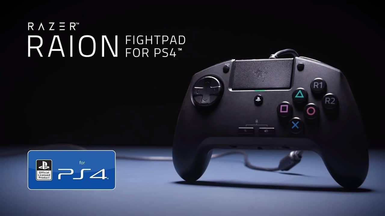 RAZER anuncia novo controle para PS4 sem analógicos