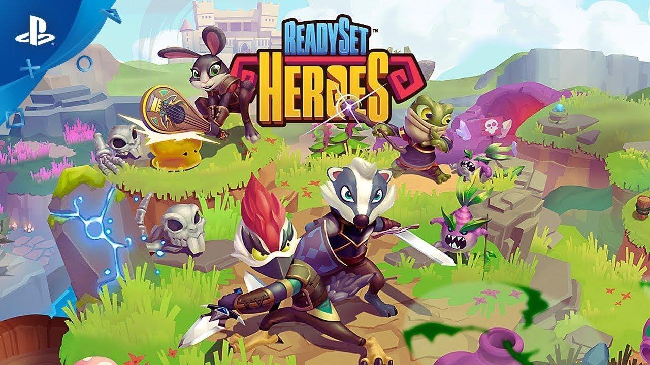 ReadySet Heroes, jogo co-op, já está disponível na PS Store