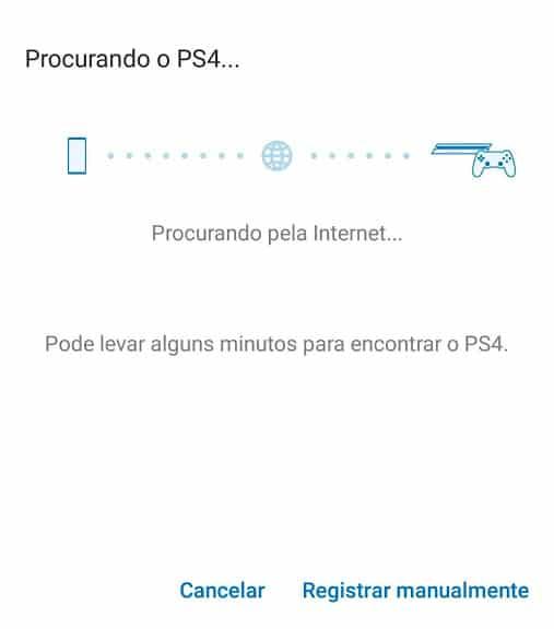 Remote Play - Procurando PS4