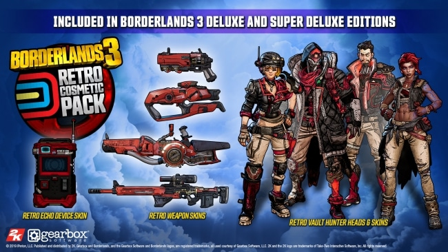 Retrô Borderlands 3