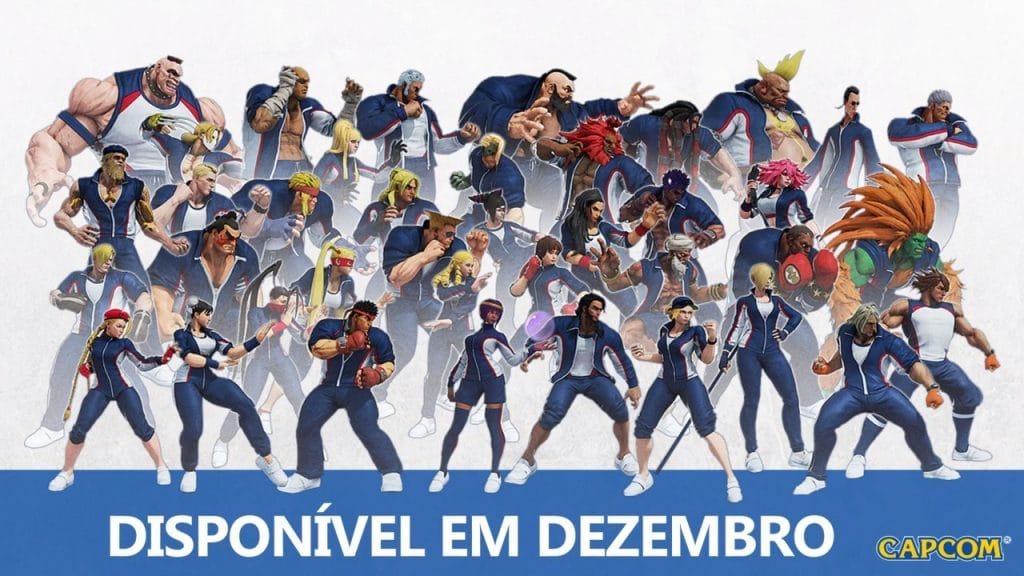 Roupas de torneio Street Fighter V
