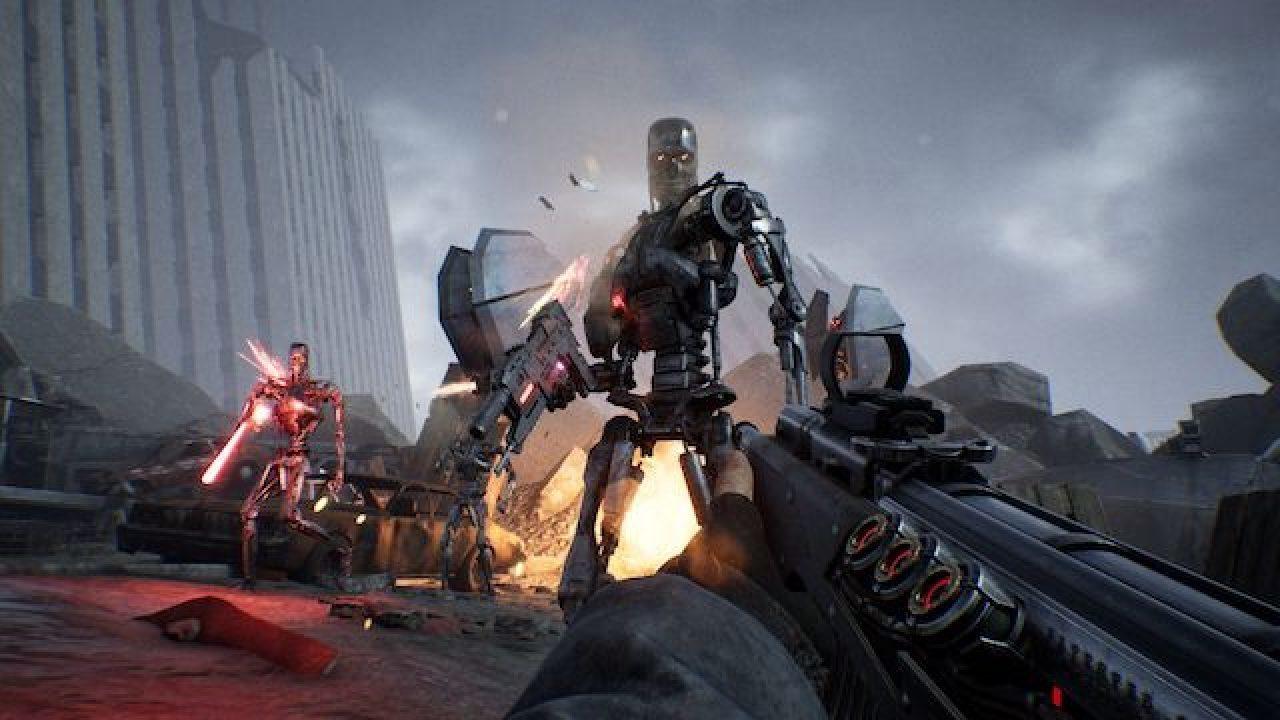 Terminator: Resistance: gameplay mostra elementos stealth