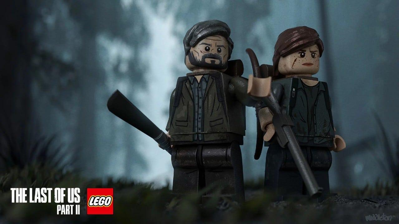 LEGO The Last of Us 2: criação de artista faz sucesso na web