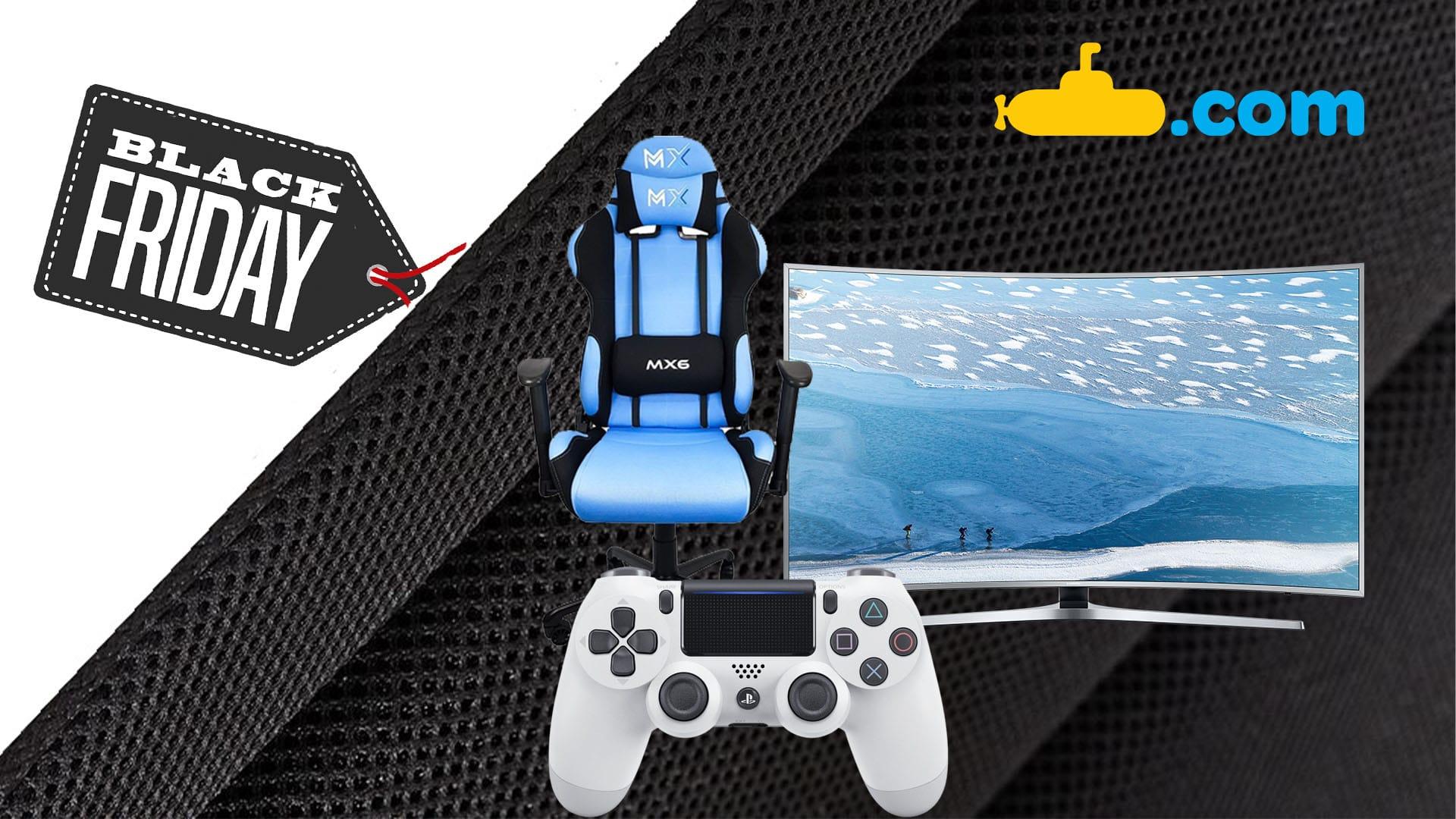 [Black Friday] Submarino: confira os melhores preços em jogos e acessórios