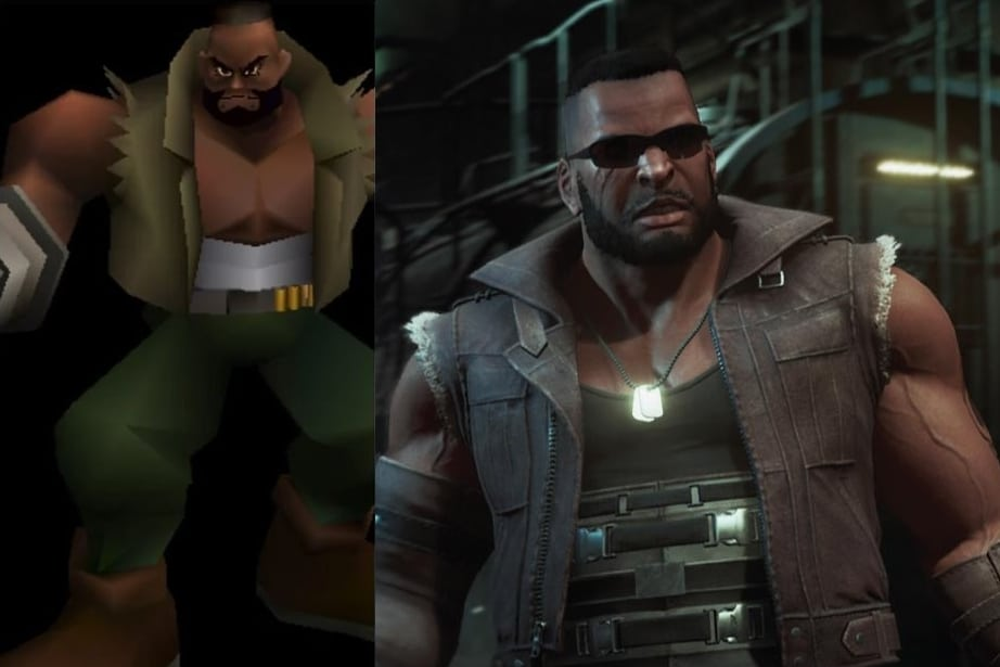 Barret Wallace Final Fantasy VII