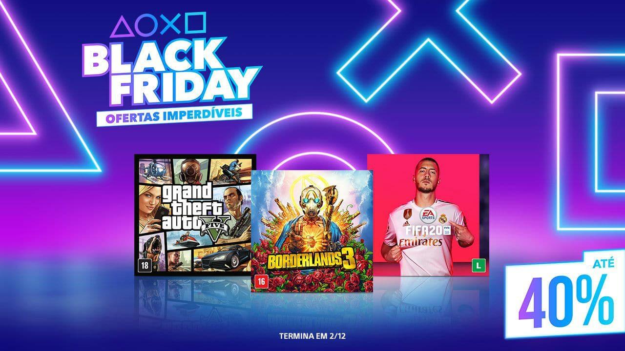 Sony revela lista de jogos que estarão na Black Friday da PS Store