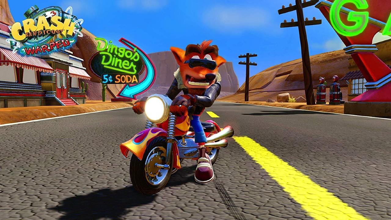 Listagem aponta para coletânea com quatro jogos de Crash Bandicoot