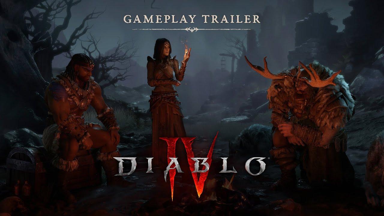 Diablo IV só poderá ser jogado online, mas terá modo single player