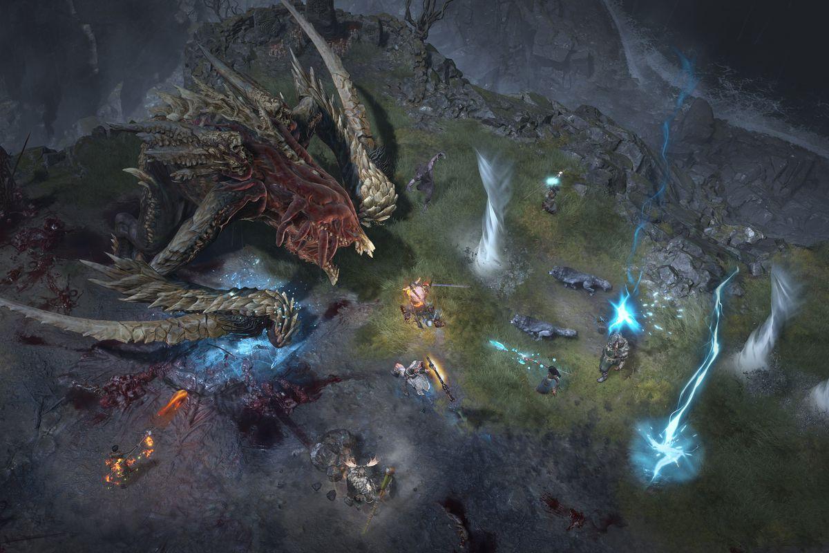Diablo IV: novo gameplay mostra luta demoníaca contra chefão