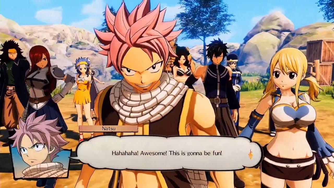 RPG Fairy Tail: cinco novos personagens são revelados