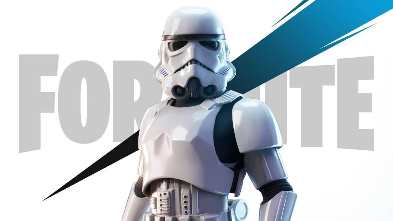 Só não vale errar os tiros: Fortnite ganha skin de Stormtroopers