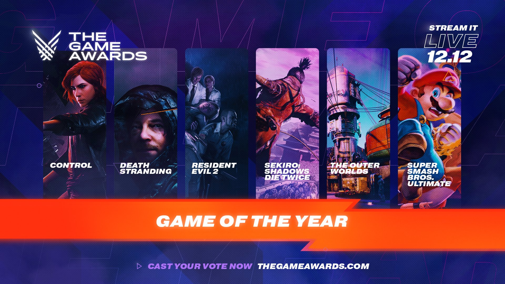 GOTY: The Game Awards 2019 revela os candidatos a