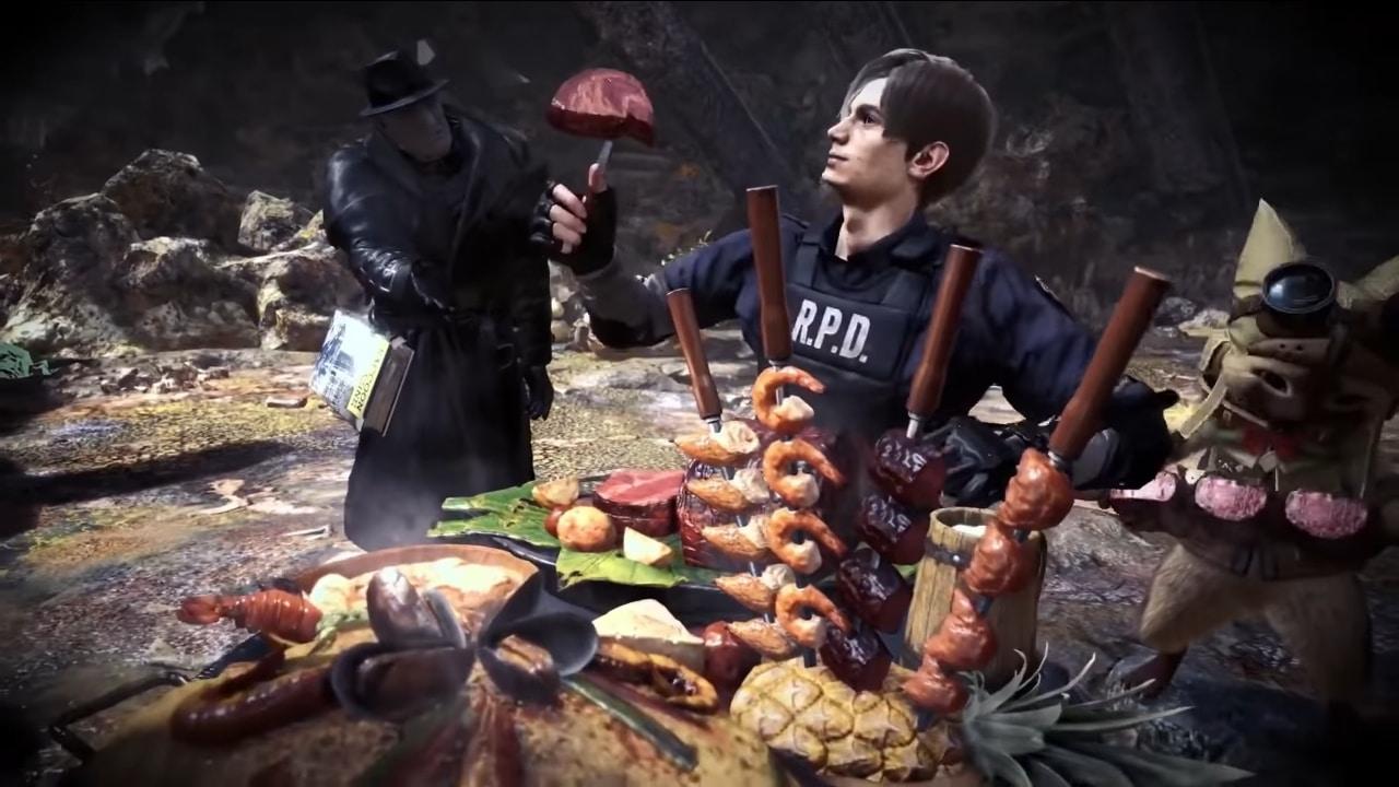 Monster Hunter World: Iceborne tem evento com Resident Evil 2 Remake