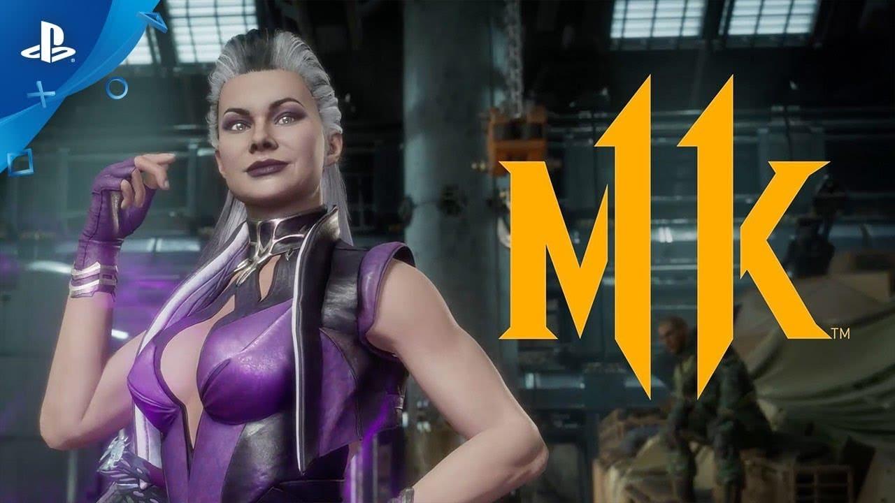 Mortal Kombat 11: primeiro gameplay de Sindel é brutal