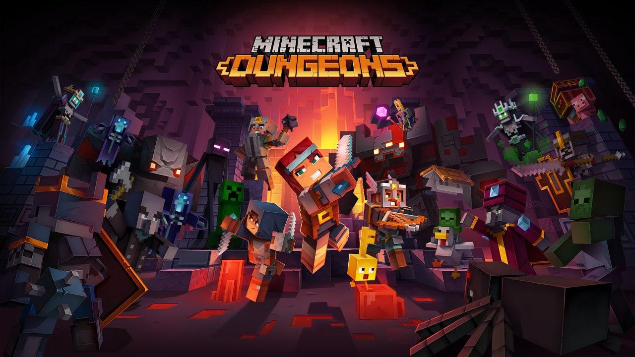 Minecraft Dungeons chega em abril de 2020 ao PS4