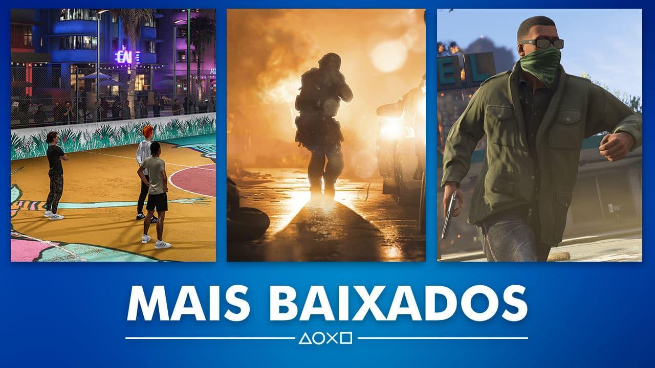 Sony revela os mais vendidos de outubro na PS Store do Brasil