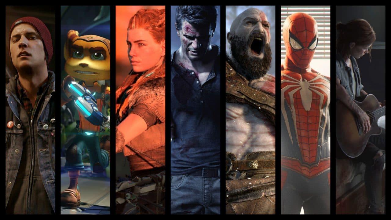 Geração histórica: fã cria arte com todos os jogos publicados pela Sony no PS4
