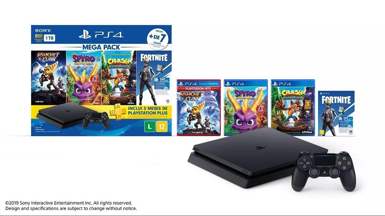 Para fãs de jogos de plataforma: Sony anuncia novo Mega Pack do PS4