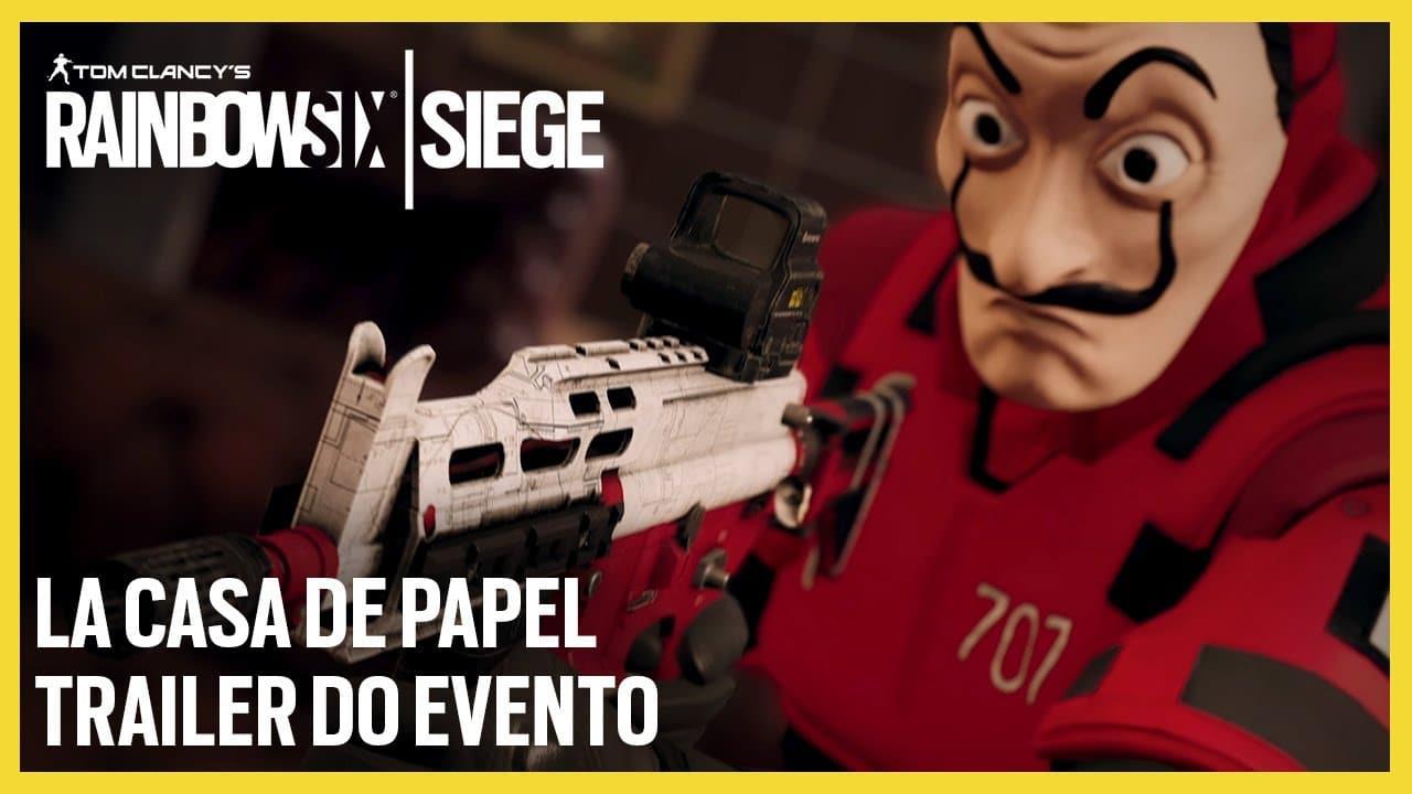 Bella Ciao! Rainbow Six Siege ganha evento com La Casa de Papel