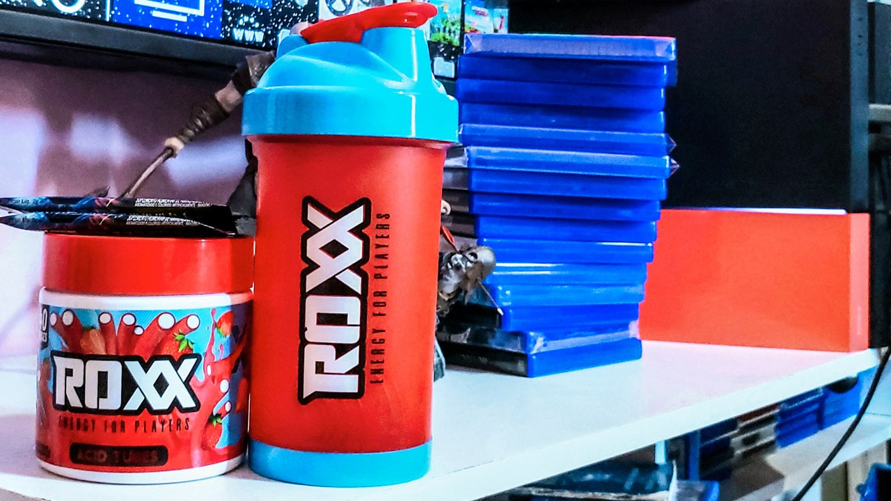 Noitadas de gameplay: ROXX Energy lança o energético oficial do gamer