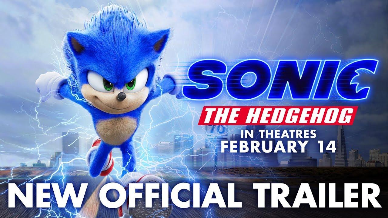 Muito melhor! Trailer do filme de Sonic revela visual repaginado