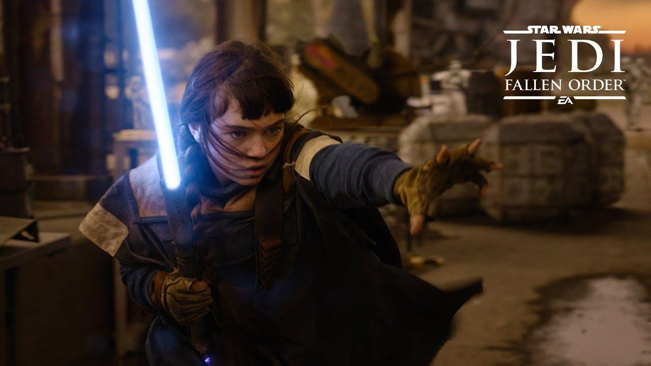 Novo trailer de Star Wars JEDI: Fallen Order mostra