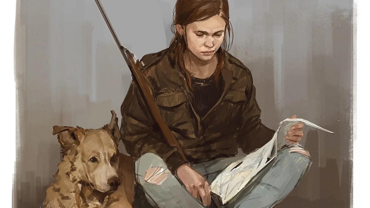 Arte conceituais The Last of Us 2 mostram mais de Ellie