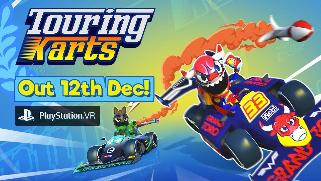 Touring Karts vai chegar ao PS4 mesclando