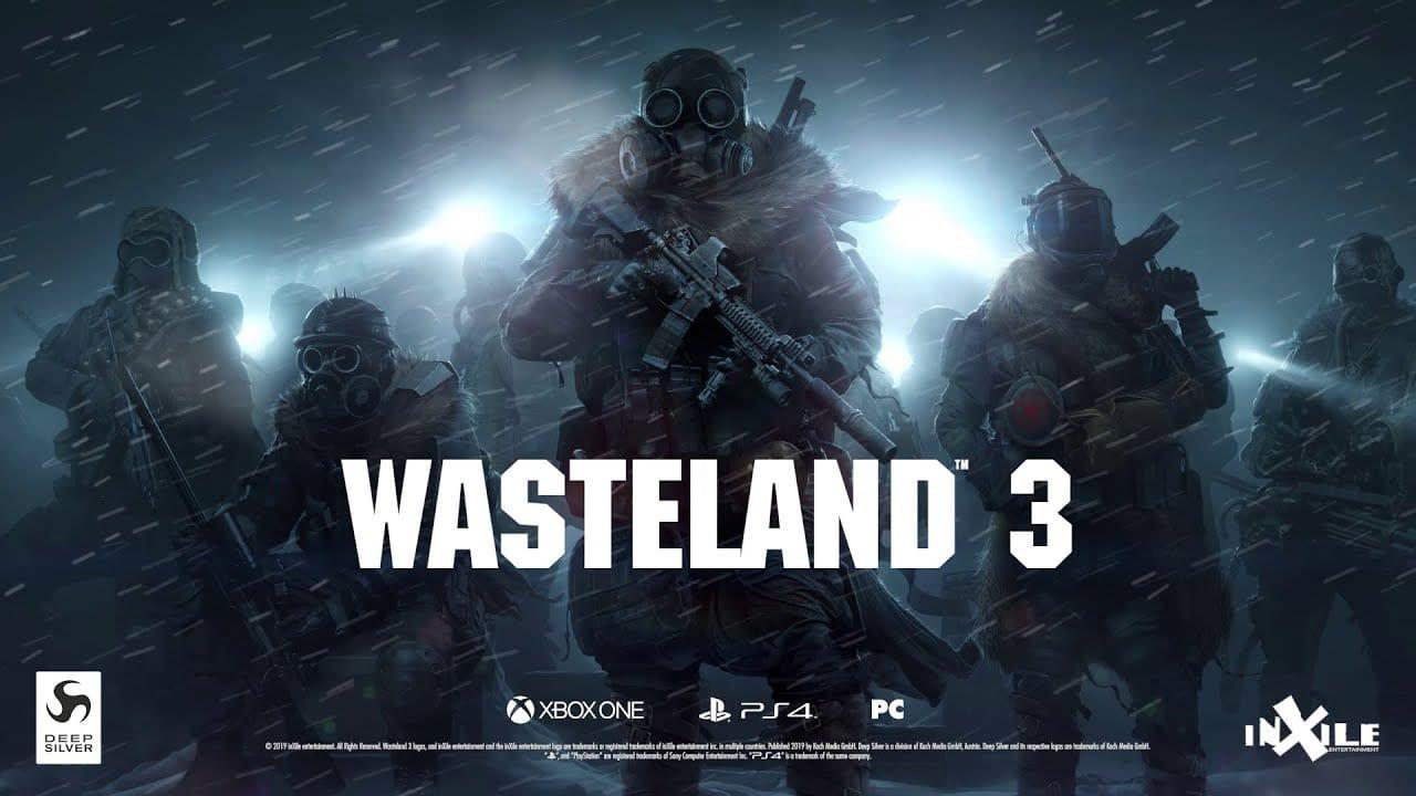 Wasteland 3 vai chegar ao PlayStation 4 em maio de 2020