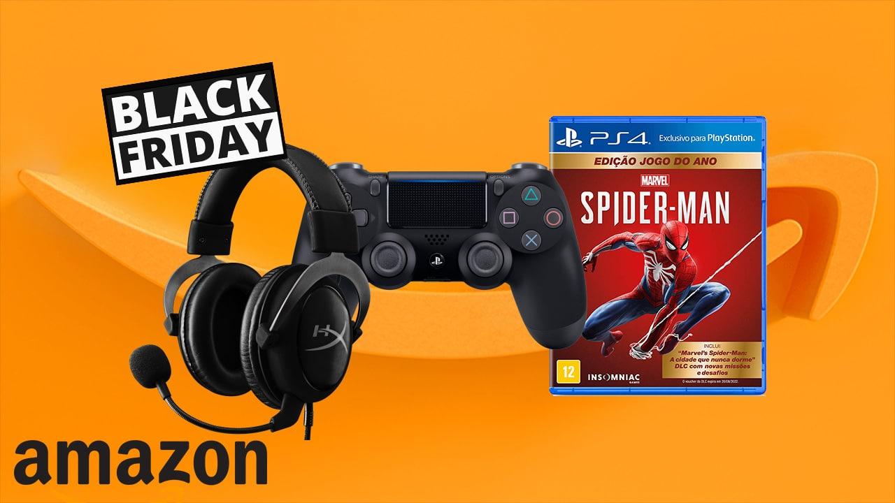 [Black Friday] Amazon já oferece bons descontos em produtos gamers