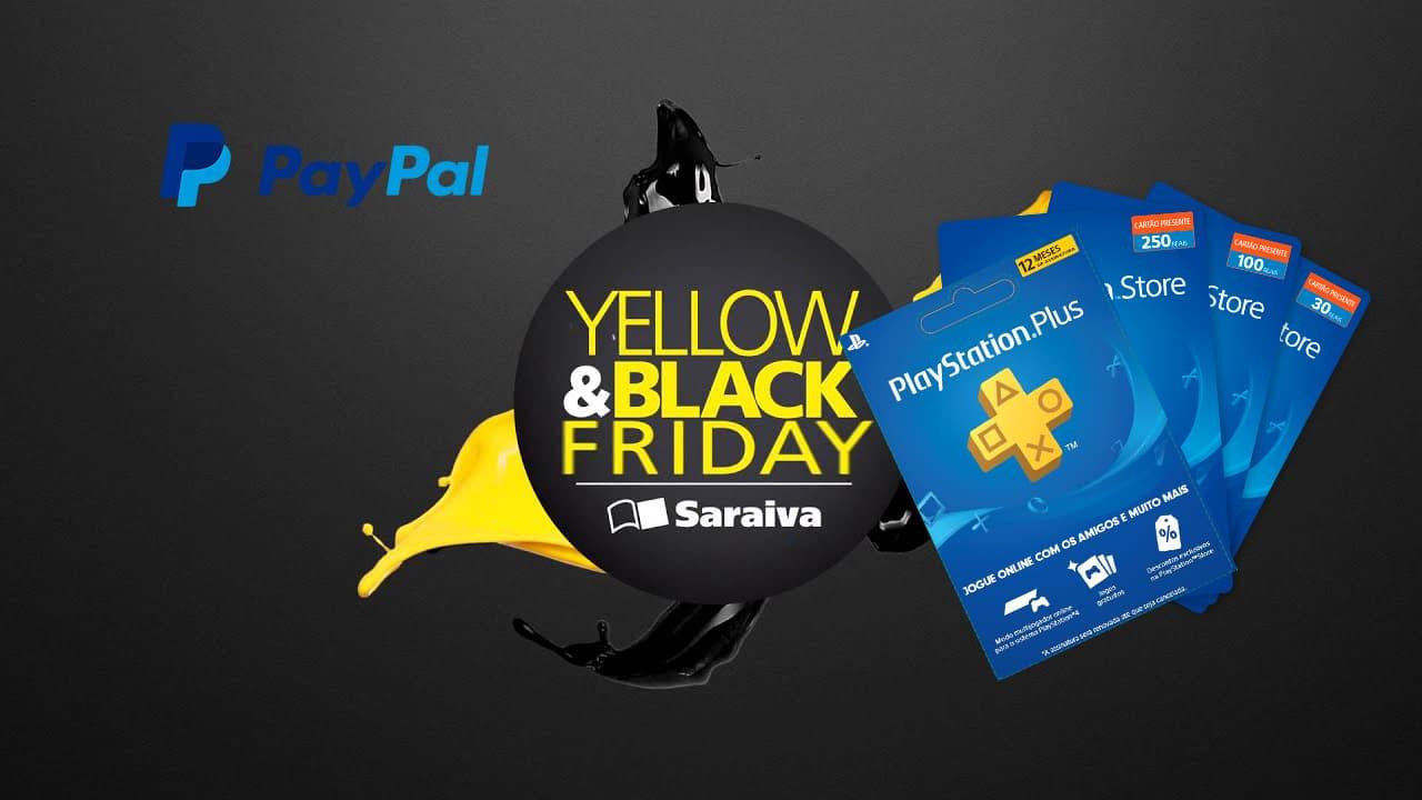 [Black Friday] Saraiva oferece PS Plus de 12 meses por R$ 90