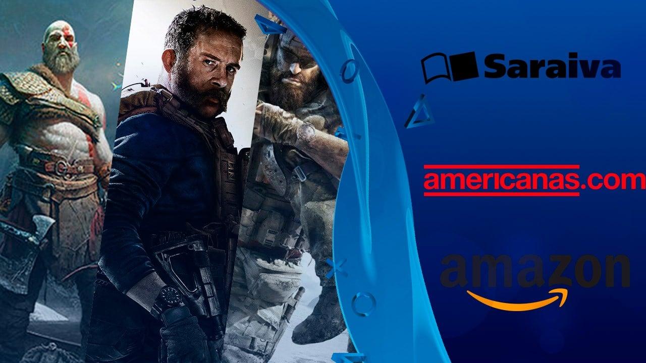 Proclamação dos descontos: compre jogos por melhores preços hoje