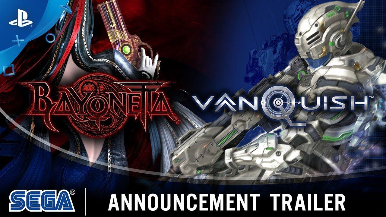 Confirmados: Bayonetta e Vanquish chegarão ao PS4 em 2020