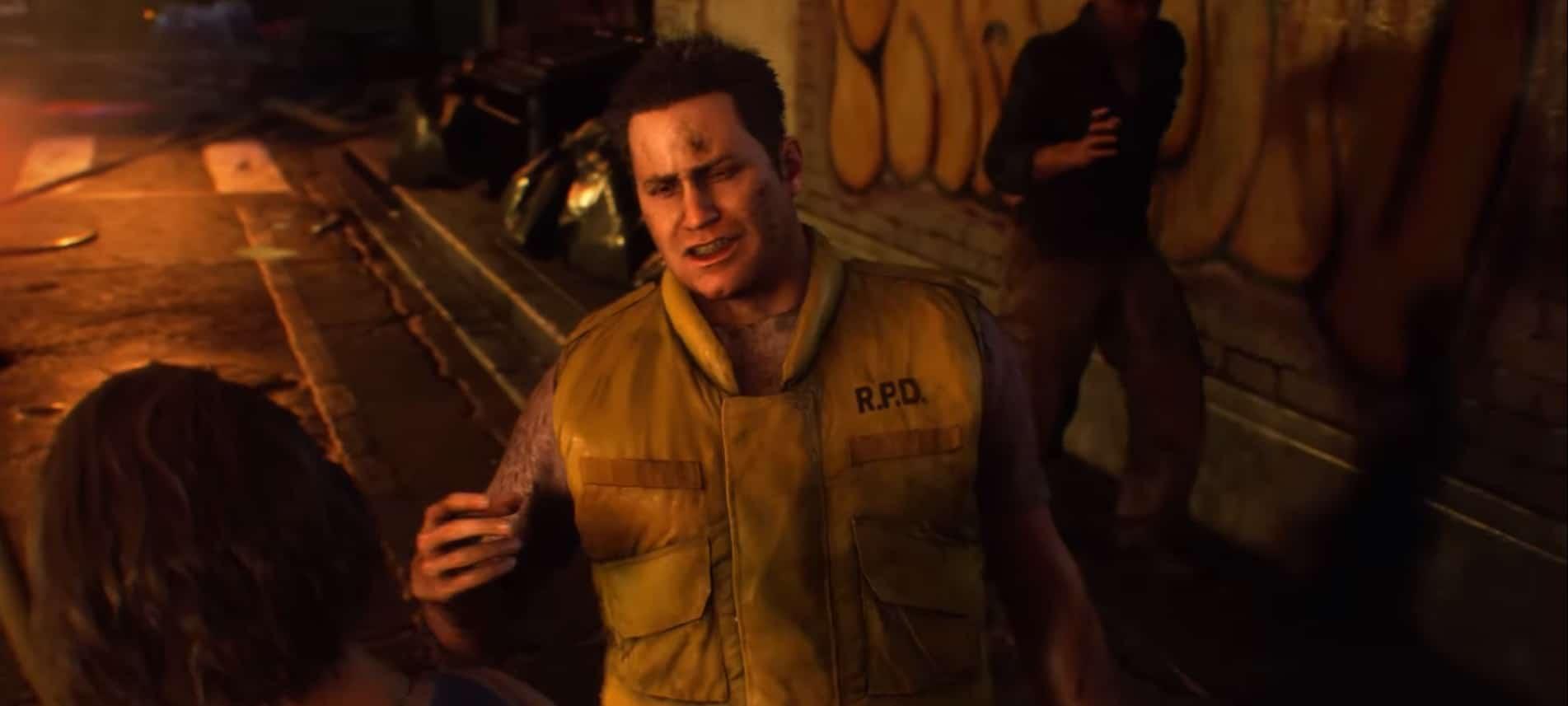 Compare os personagens de Resident Evil 3 Remake com o original 12