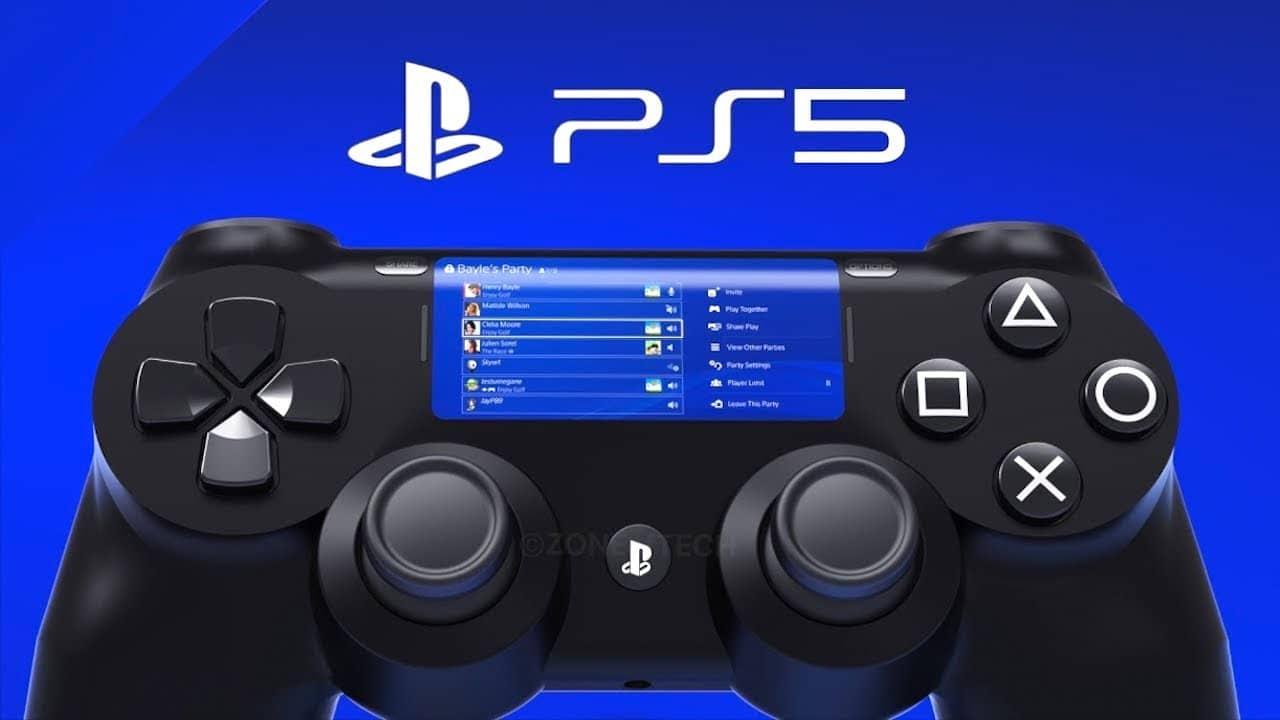 DualShock 5: nova patente indica mais botões no controle