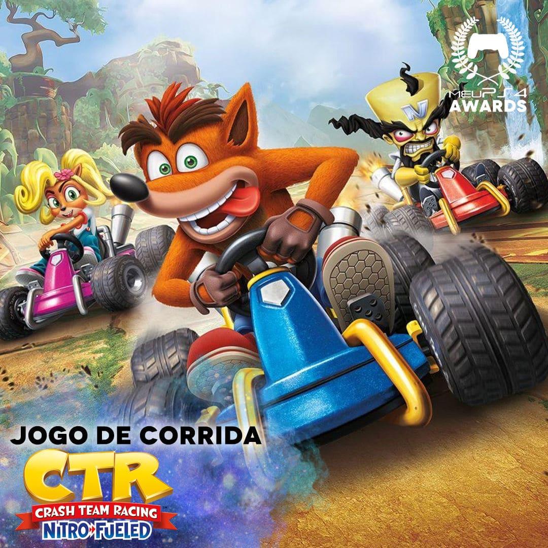 CRASH - MELHOR JOGO DE CORRIDA