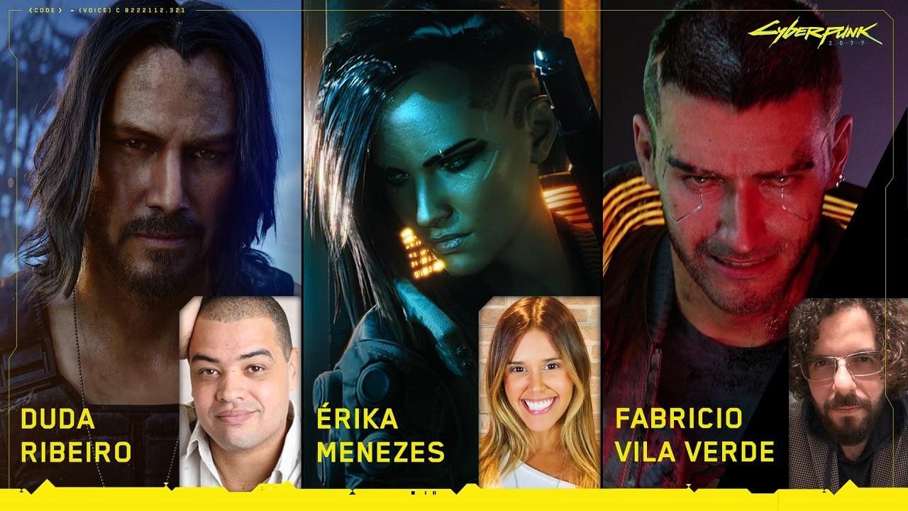 CD Projekt RED revela vozes brasileiras de Cyberpunk 2077