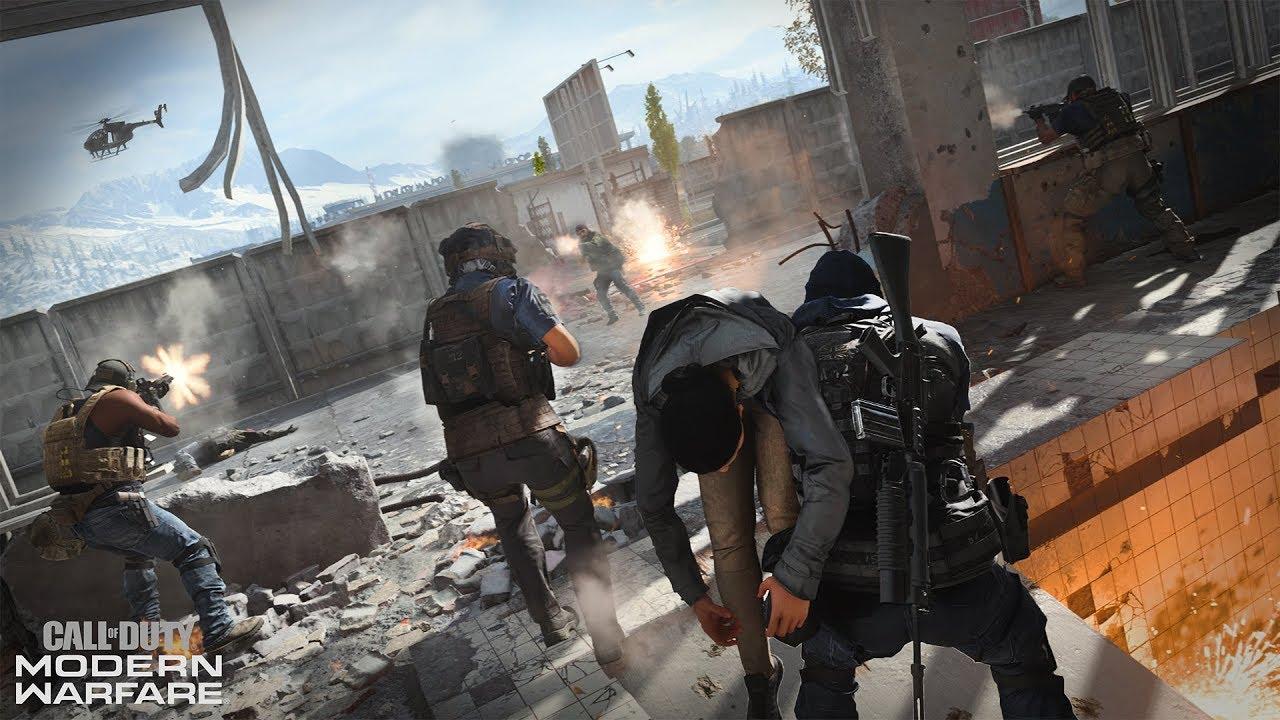 Modern Warfare recebe update com mapas de Call of Duty 4