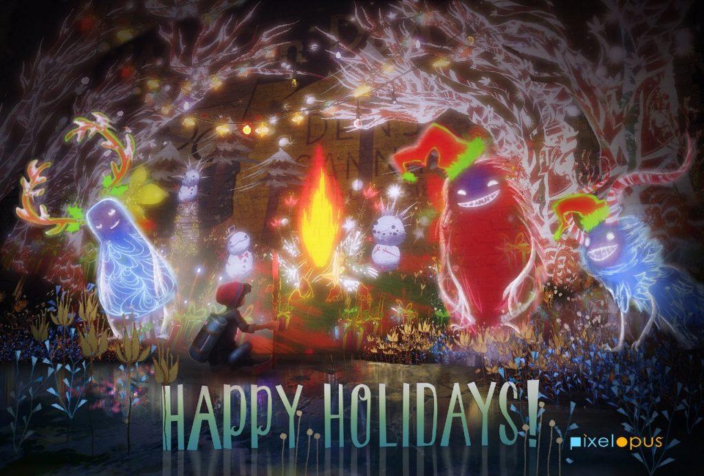PlayStation libera cartões de natal de diversos games 12
