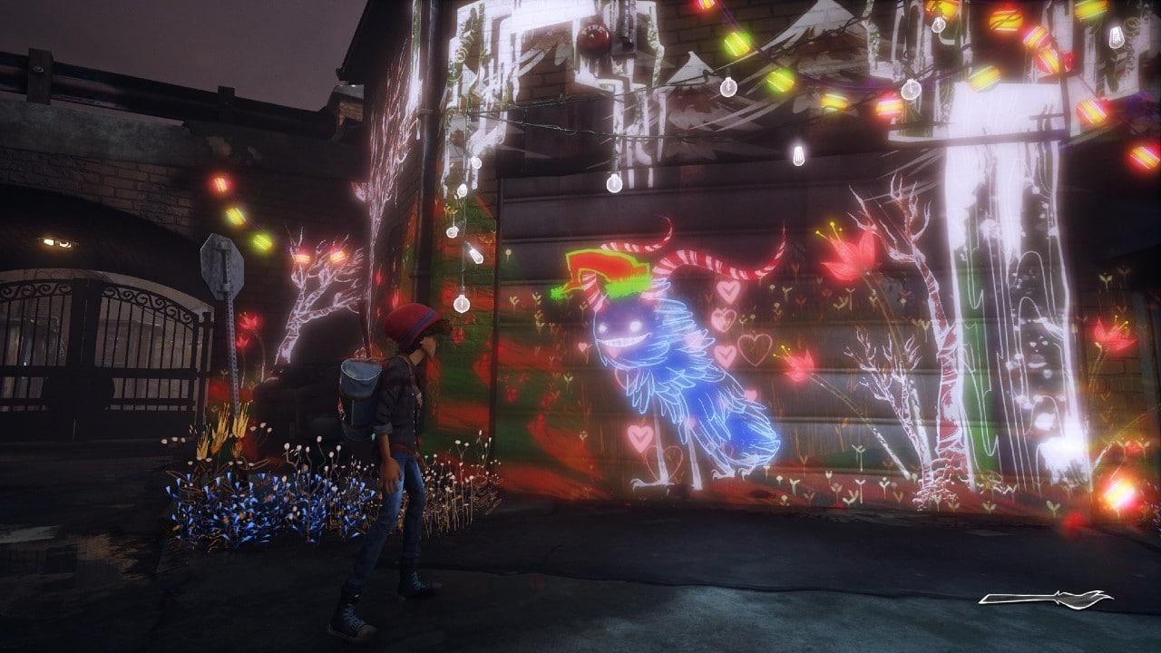 Patch de Concrete Genie traz pinceis inspirados nas festividades do fim de ano