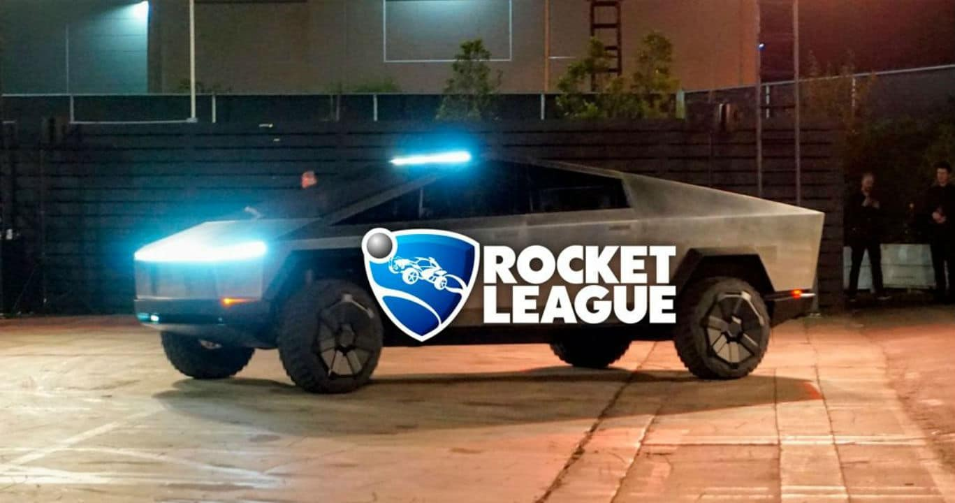 Fãs de Rocket League querem Cybertruck da Tesla no jogo