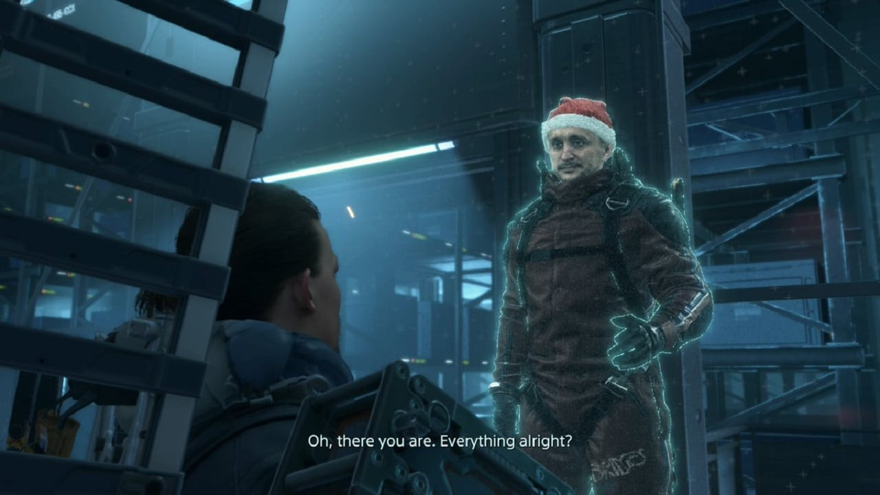 Ho-ho-ho! NPCs em Death Stranding vestem gorros de Natal