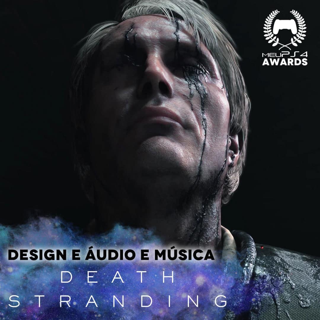 DEATH STRANDING - MELHOR AUDIO e MUSICA
