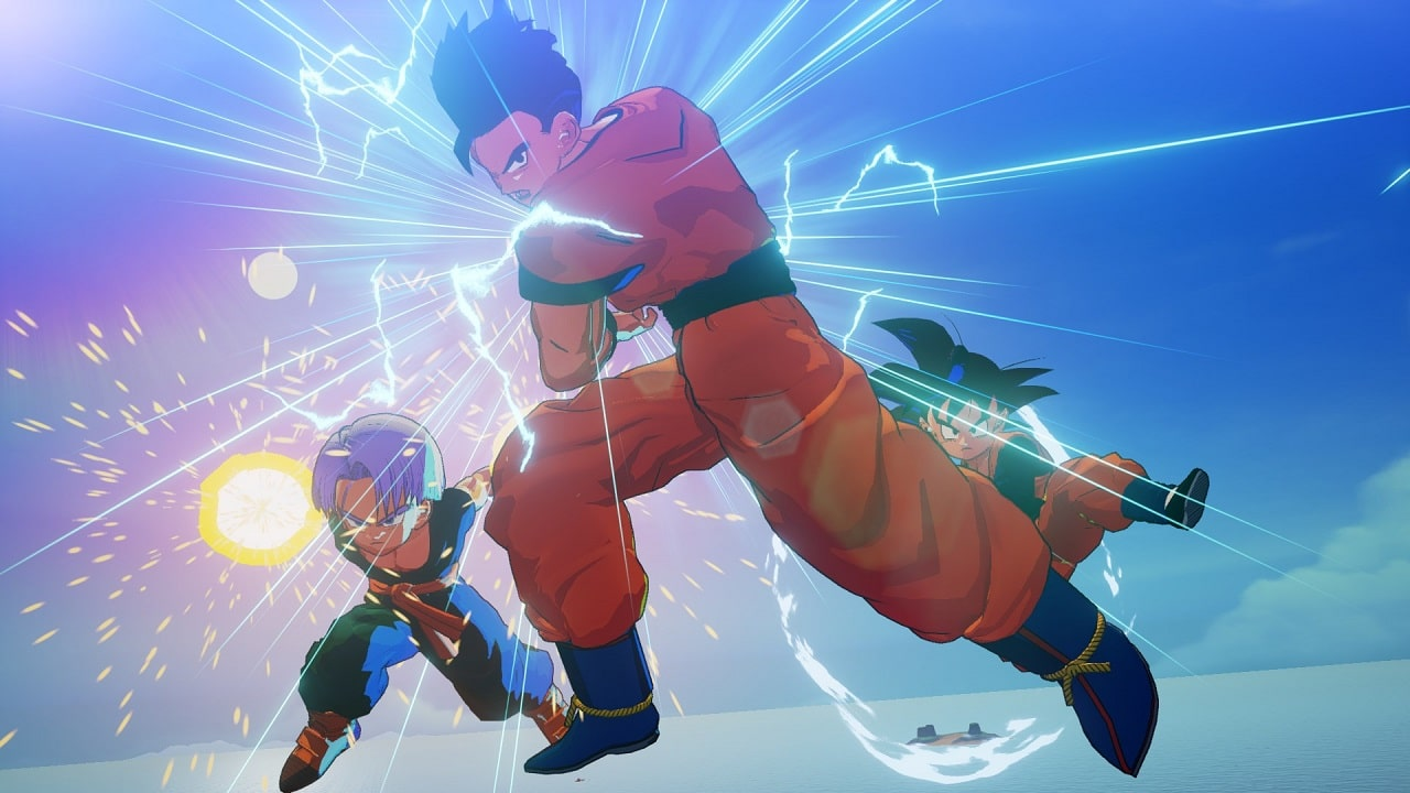 Dragon Ball Z: Kakarot ganha novas imagens de 18, Goten e Trunks