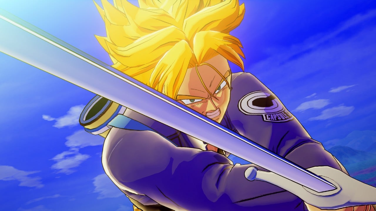 Dragon Ball Z: Kakarot: gameplay mostra Trunks exterminando Freeza