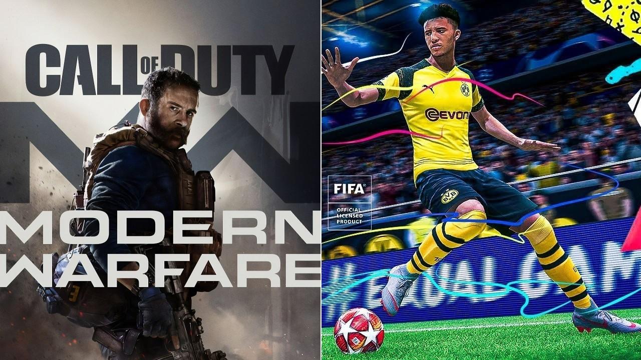FIFA 20 e CoD: Modern Warfare dominam as vendas de Natal